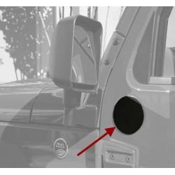 Rugged Ridge Jeep JK 07-Up Mirror Filler Plates (Half or Full Doors)
