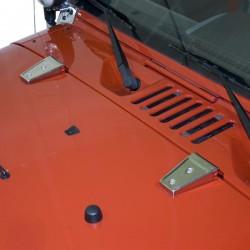 Rugged Ridge Jeep JK 07-Up Door/Hood Hinge Cover Pair (Textured Black)