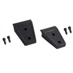 Rugged Ridge Jeep JK 07-Up Door/Hood Hinge Cover Pair (Textured Black)