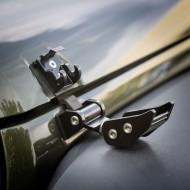 Rugged Ridge Jeep JK 07-Up Black Aluminum Hood Catch Set