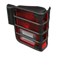 Rugged Ridge Jeep JK 07-15 Euro Guard Tail Light Pair (Black or Stainless)