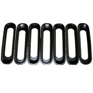 Rugged Ridge Jeep JK 07-Up Grille Inserts -Multiple Finishes Available