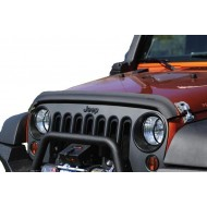 Rugged Ridge Jeep Wrangler JK 07-Up Bug Deflector Matte Black