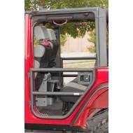 Rugged Ridge Jeep Wrangler JK 07-Up 4DR Tube Doors Rear Pair