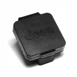 "Rugged Ridge 2"" Hitch Plug With Jeep Logo"