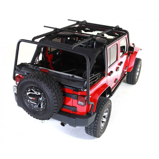 Rugged Ridge Jeep Wrangler JK 4-DR 07-Up Sherpa Roof Rack Kit