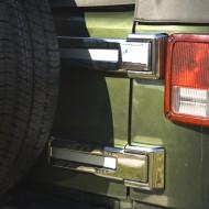 Rugged Ridge Jeep JK 07-Up Tailgate Hinge Covers - Chrome