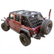 Rugged Ridge Jeep Wrangler JK 07-Up 4DR Cargo Net Black