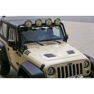 Rugged Ridge Jeep Wrangler JK 07-Up Performance Vented Hood