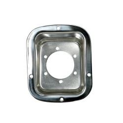 Rugged Ridge Jeep YJ, CJ 78-95 Stainless Fuel Filler Neck Protector