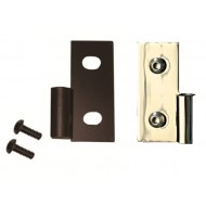 Rugged Ridge Jeep TJ/LJ, YJ, CJ Lower Door Hinge Brackets