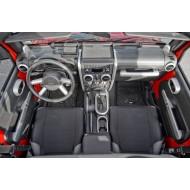 Rugged Ridge Jeep JK 07-10 2DR Trim Kits Silver or Chrome