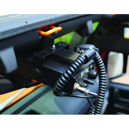 Rugged Ridge Jeep Wrangler JK 07-Up Overhead CB Radio Mount