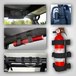 Rugged Ridge Jeep TJ/LJ, YJ, CJ 7- Piece Interior Roll Bar Trim Kit