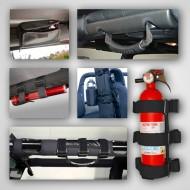 Rugged Ridge Jeep Wrangler JK 07-Up 9-Piece Interior Roll Bar Trim Kit