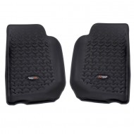Rugged Ridge Jeep Wrangler JK 07-13 Front Floor Liners (Black, Tan, or Gray)