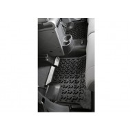 Rugged Ridge Jeep Wrangler JK 07-14 4DR Rear Floor Liner (Black, Tan or Gray)