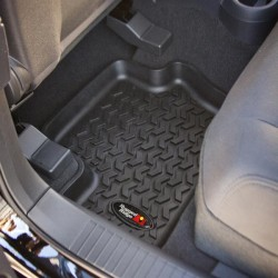 Rugged Ridge Jeep Compass/Patriot 07-14 Rear Floor Liners BLK Tan Gray