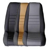 Rugged Ridge Jeep YJ, CJ 76-90 Fabric Front Seat Covers