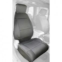 Rugged Ridge Jeep Wrangler JK 07-10 Front Neoprene Seat Covers w/ AB Flap