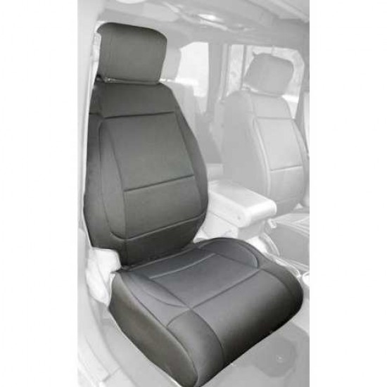 Rugged Ridge Jeep Wrangler JK 11-Up Front Neoprene Seat Covers w/ AB Flap