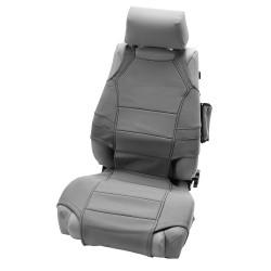 Rugged Ridge Jeep Wrangler JK 07-Up Front Neoprene Seat Vest (Black, Grey, Tan)