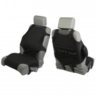 Rugged Ridge Jeep Wrangler JK 07-Up Front Seat Protector Vest (Black or Grey)