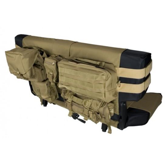 Rugged Ridge Jeep CJ, YJ, TJ 76-06 Rear Bench Seat Cargo Seat Covers
