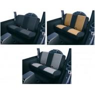 Rugged Ridge Jeep Wrangler TJ/LJ 03-06 Fabric Rear Seat Covers