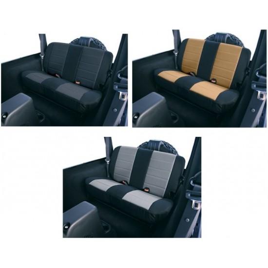 Rugged Ridge Jeep YJ, CJ 80-95 Fabric Rear Seat Covers