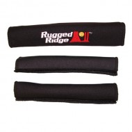 Rugged Ridge Jeep Wrangler JK 2DR 07-10 Grab Handle Covers 3-PC (Black or Red)