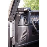 Rugged Ridge Jeep Wrangler TJ/LJ 97-06 CB Radio Dash Mount