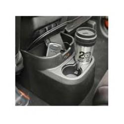 Rugged Ridge Jeep Wrangler JK 2DR 11-Up Rear Seat Organizer (Black or Tan)