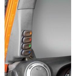 Rugged Ridge Jeep JK 07-10 A Pillar Switch Pod Left or Right