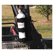 Rugged Ridge UTV Fire Extinguisher Holder Black or Red
