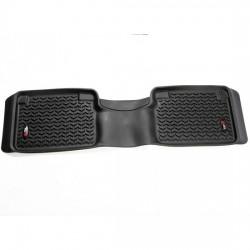 Rugged Ridge Nissan Titan 12-14 Rear Floor Liners Black Tan Gray