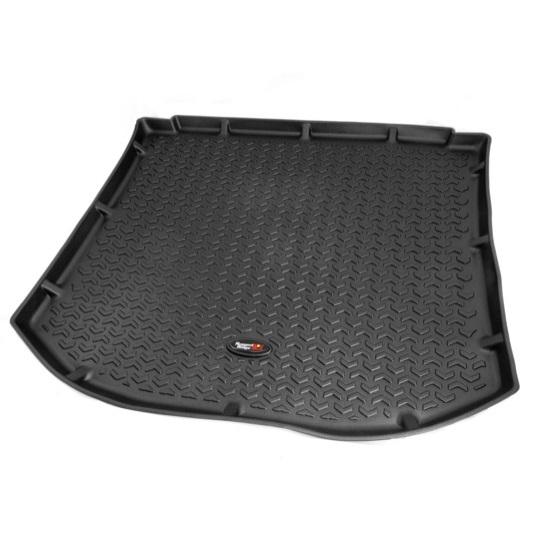 2011-2014 Ford Explorer Black All Terrain Floor Liner Rugged Ridge 82972.10 Cargo