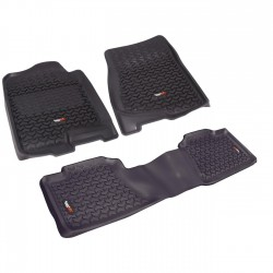 Rugged Ridge Avalanche 07-13 Fitted Floor Liner Kit (Blank, Gray or Tan)