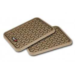 Rugged Ridge Rear Universal Truck Floor Liners (Black, Tan or Gray)