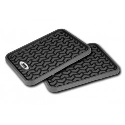 Rugged Ridge Jeep Rear Universal Floor Liners (Black, Tan or Gray)