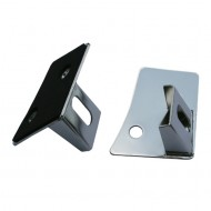 Rugged Ridge Jeep JK 07-15 Windshield Light Brackets (Black or Stainless)