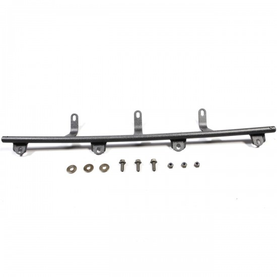 rugged ridge jeep wrangler jk light bar lowering kit  for use with 11232 21