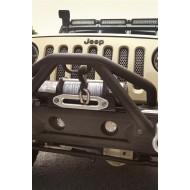 Rugged Ridge Jeep Wrangler JK 07-15 Round LED Fog Light Mount Kit