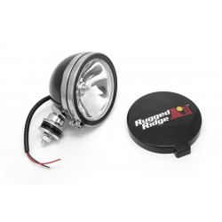 Rugged Ridge 6-Inch Round Off Road Light - Black 100W