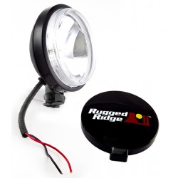 Rugged Ridge 6-Inch Slim Off Road Light - Black 100W