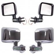 Rugged Ridge Jeep JK Mirror Kits w/ Turn Signal Indicators