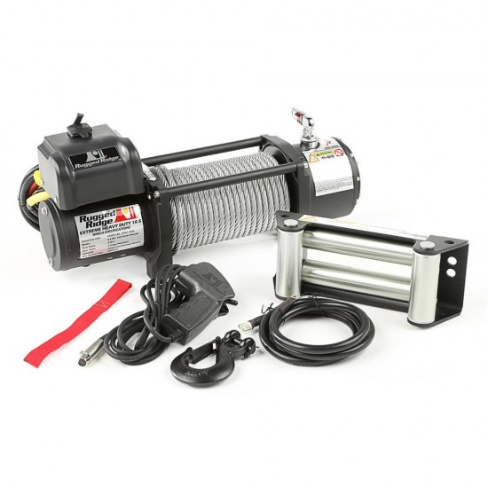 Rugged Ridge Heavy Duty 10,500 LBS Spartacus Off Road Winch