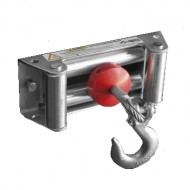 Rugged Ridge Winch Cable Stopper (Black or Red)