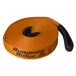"Rugged Ridge 1"" x 15ft ATV Recovery Strap 10,000lbs"