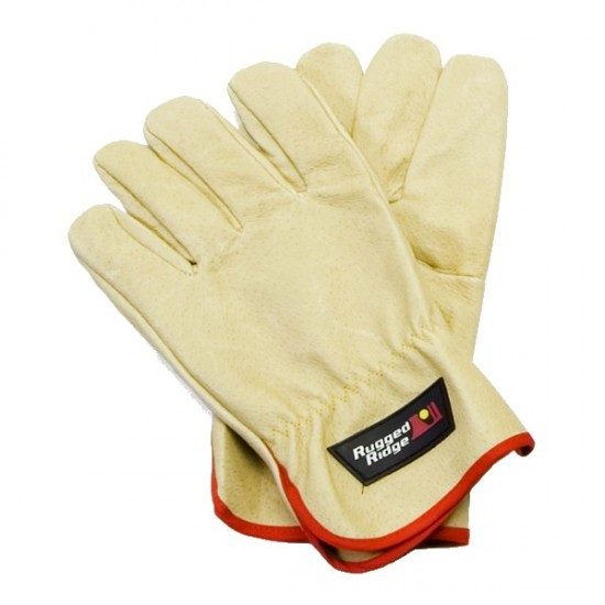 Rugged Ridge Leather Recovery Gloves